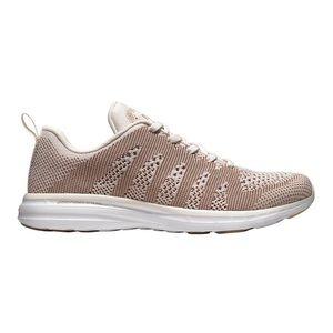 APL techloom pristine sneakers 7.5 rose gold white